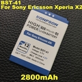 2800mAh BST-41 Mobile Phone Battery For Sony Ericsson Xperia PLAY Battery R800 R800i A8i M1i X1 X2 X2i X10 X10i / Play Z1i Phone