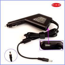 19V 4.74A 90W Laptop Car DC Adapter Charger + USB(5V 2A) for Lenovo F40M F41M C460A E360 E390 E420