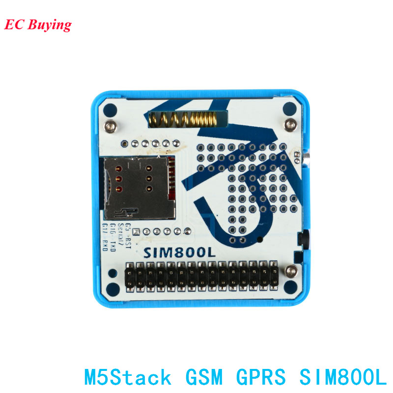 US $20 84 9% OFF|M5Stack GSM Module GPRS Board SIM800L ESP32 Development  Board for Arduino ESP32 Electronic PCB DIY-in Integrated Circuits from