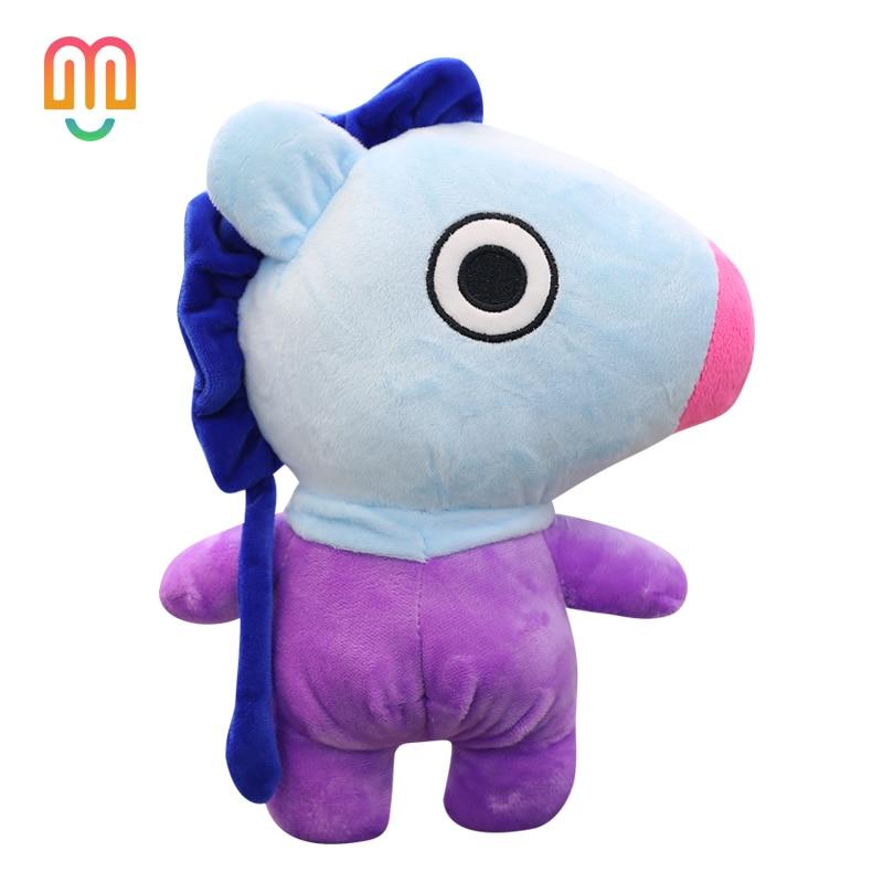 Adroit 25/35cm Bangtan Boys Plush Doll Bts Bt21 Kawaii Pillow Soft Stuffed Tata Van Cooky Chimmy Shooky Koya Rj Mang Gift For Children Latest Technology Toys & Hobbies Movies & Tv