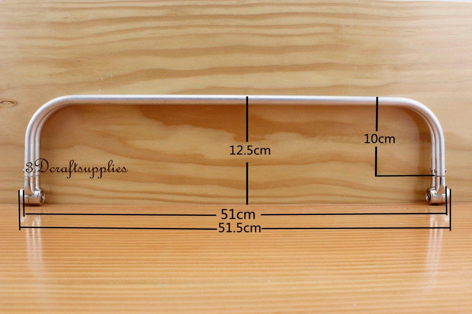 20นิ้วกรอบโลหะอลูมิเนียมท่อภายในบานพับกระเป๋ากรอบกรอบZ6