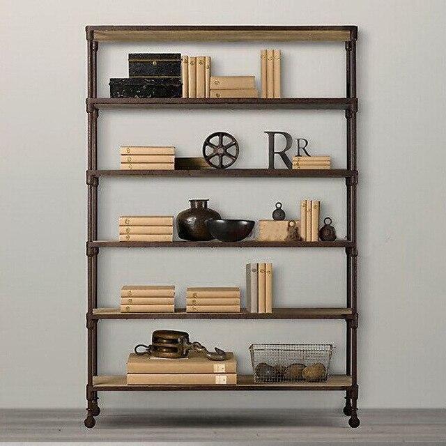 Americano stile loft in ferro battuto può essere personalizzato ...