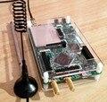 2016 Nueva HackRF Uno 1 MHz-6 GHz Plataforma SDR Software Defined Radio Placa de Desarrollo + shell + Acrílico antena