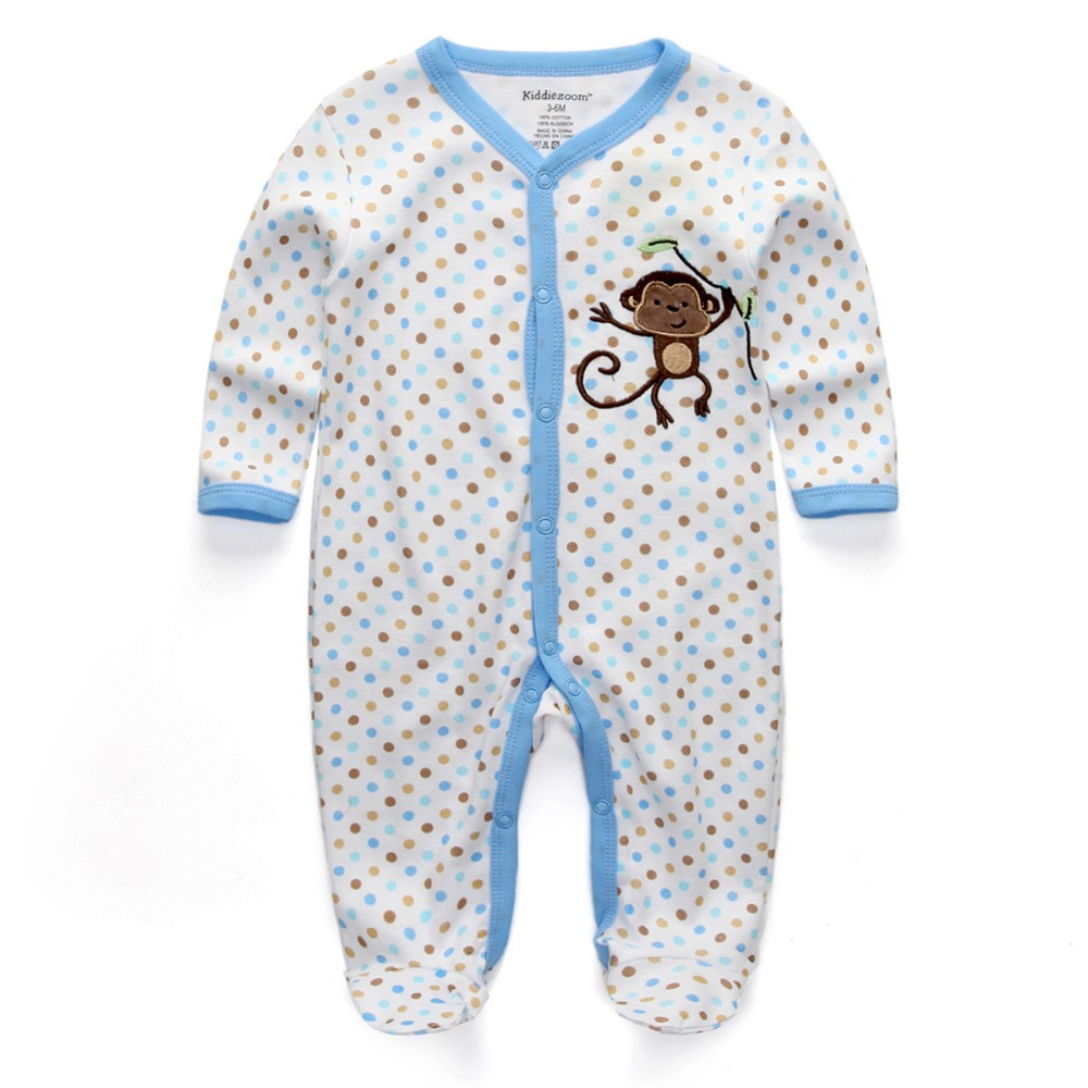 Baby Boys Sleepers Clothes Sleepwear toddler cartoon ...