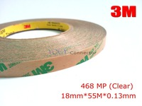 1x 18mm 3M 468MP 200MP Double Sided Adhesive Tape High Temperature UV Waterproof Resistant Automotive Using