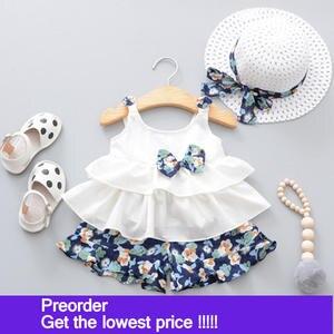 34f8b13cda0 Humor Bear 2018 Summer 3Pcs Set Clothing Suit Clothes