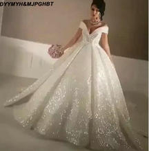 Buy glitter wedding dress and get free shipping on AliExpress.com 5ac165c249c7