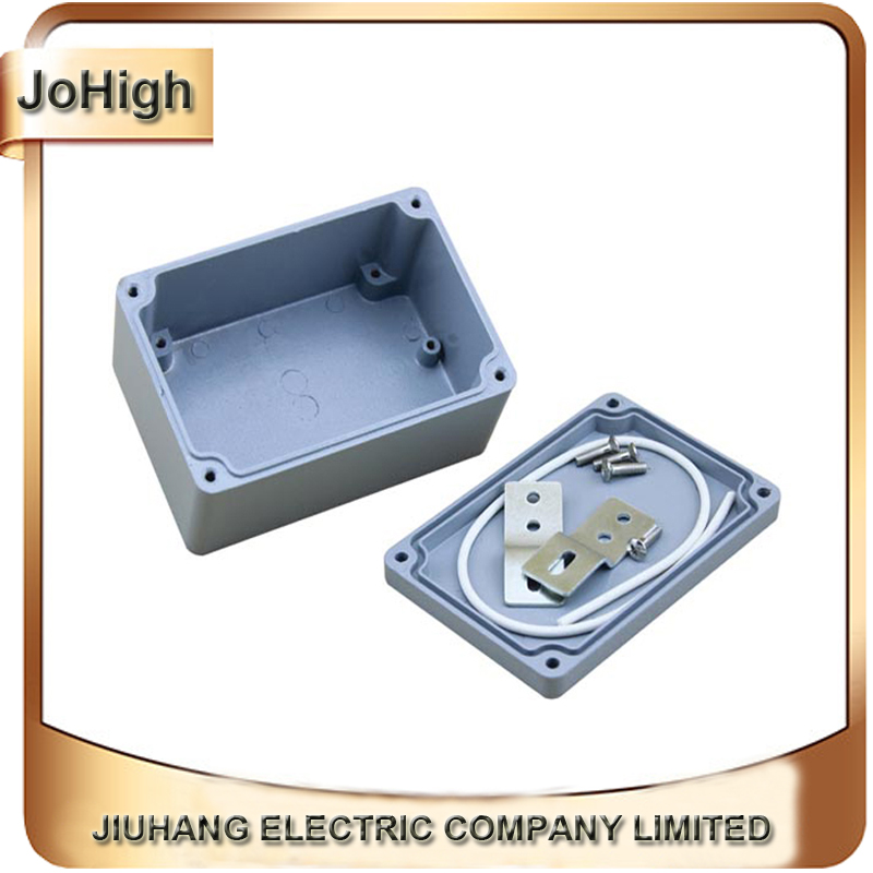 Factory Supply  Waterproof And Dustproof IP67 aluminium junction box 135*85*56mm free shipping 1piece lot top quality 100% aluminium material waterproof ip67 standard aluminium electric box 188 120 78mm