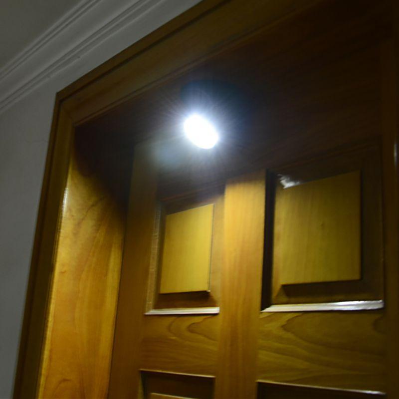 Säkerhet 9 LED Led Rörelsesensor Nattlampa 360 graders rotation - Nattlampor - Foto 6