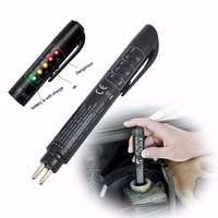 Brake Fluid Tester Pen 5 LED Mini Indicator For Car Repairs Tools Vehicle Auto Automotive Diagnostic