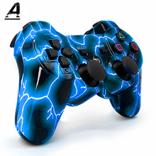 Gamepad Controller Joystick Custom Wireless Bluetooth4.0 Double Vibration SIXAXIS For P3 Game Host Remote Control Handle