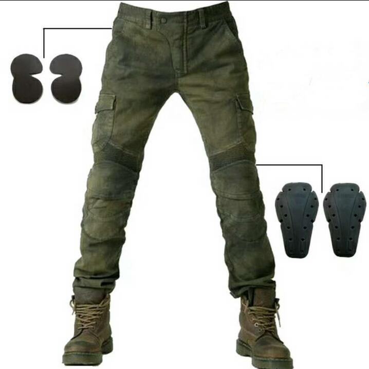 Aliexpress.com : Buy Army Green Jeans Leisure Motorcycle