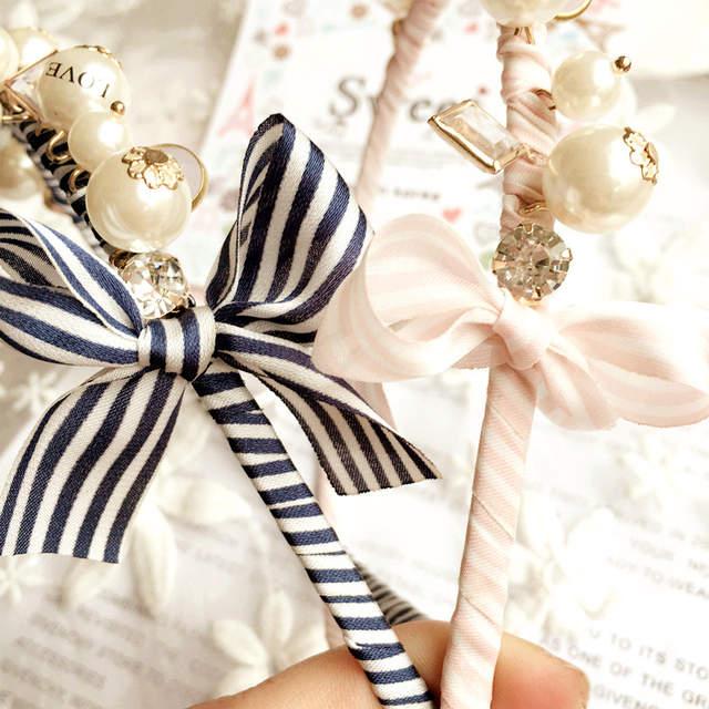 Korea Flowers Hand made Fabric flowers Retro Hair Accessories Diamond Hair  Band Hair Bows Flower Crown a670efede6e8