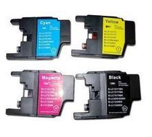 4PK LC1280Ink Cartridge for Brother LC 1280  MFC-J6510DW J6710DW J6910DW J425W J280W J430W