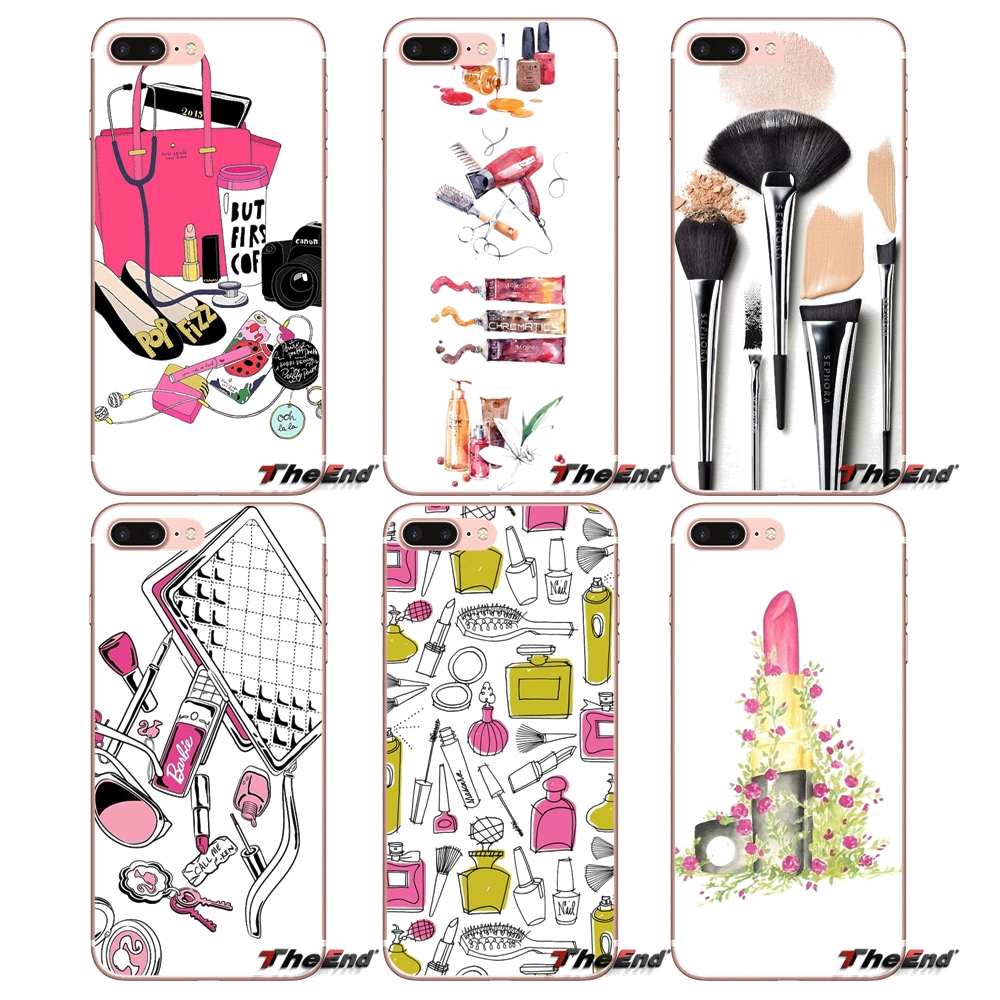 Tools Lipstick Beauty Girl Makeup Set Cover For Mobile Pones