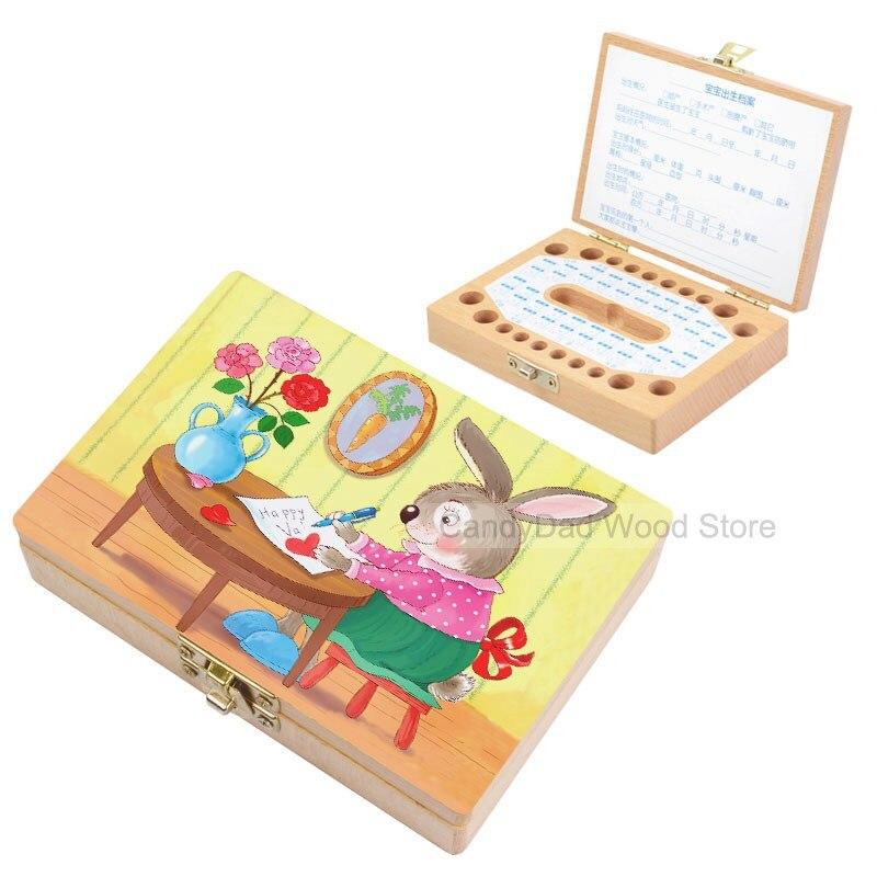 Aliexpress Com Buy Cute Cartoon Rabbit Tooth Box