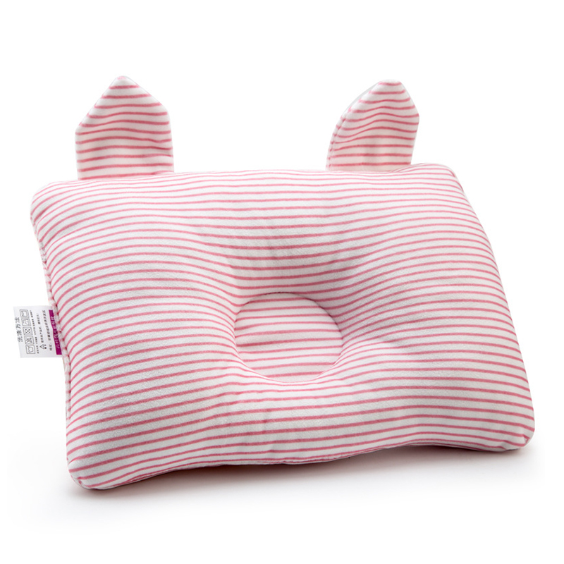 Baby Pillow Shaping Pillow Prevent Flat Head Infants Bedding Pillows For Baby Newborn Room Decorative Cushion Sleep Anti Roll