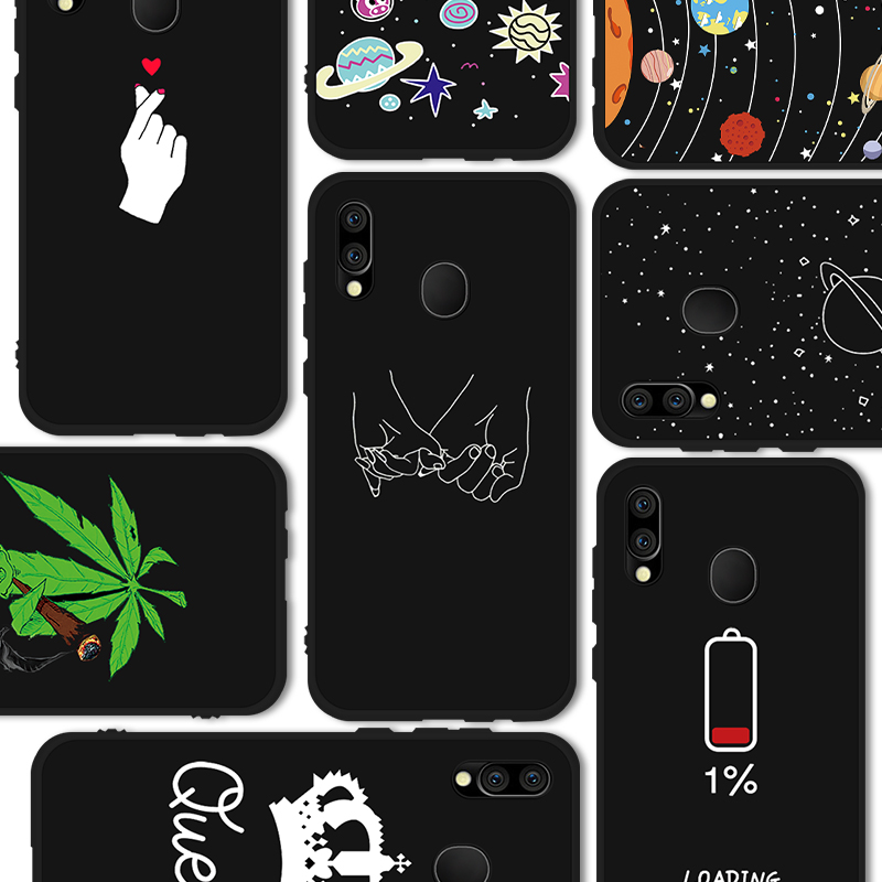 Phone Case For Samsung Galaxy M 40 30 10 A 10 60 A50 A40 A30 Animal Soft TPU Silicone Back Cover J6 J4 Plus 18 S10 s10e 2