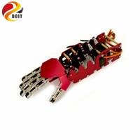5DOF Robot hand/five fingers/Metal Manipulator arm/Mini bionic hand/gripper/robot/car accessories/DIY RC Toy