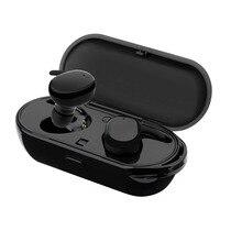 Esportes Fone de Ouvido Bluetooth Fones De Ouvido Sem Fio Fones de Ouvido IPX5 Build-in Mic Touch fone de Ouvido à prova d' água com a caixa para o telefone de carregamento