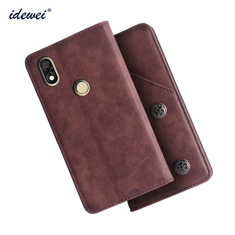 <font><b>BQ</b></font> <font><b>6015</b></font> Case Cover Luxury Leather Flip Case For <font><b>BQ</b></font> Mobile <font><b>BQ</b></font> 6015L Universe Protective Phone Case image