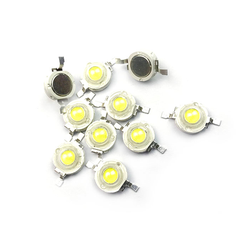 10 100PCS 5W High Power <font><b>CREE</b></font> <font><b>LED</b></font> Light Emitting Diodes <font><b>LED</b></font> <font><b>SpotLight</b></font> DownLight Diodes Lamp <font><b>LED</b></font> Bulb Yellow Red Green Blue DIY image