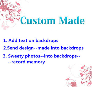 Image 1 - VinylBDS backdrops Custom made Personalize photography background  for wedding and birtday memories and valuable occasion
