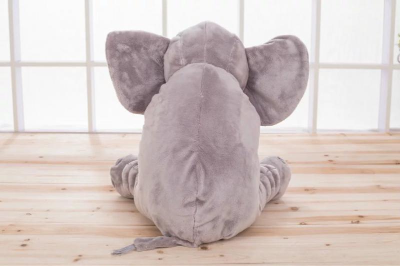 Elefante suave con monograma personalizado con su elección de nombre - Peluches y felpa - foto 4