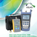 2 in 1 fiber optic laser source and optic power meter VD708B -50~+26dBm with Bag free shipping