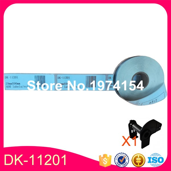 50 x Rolls Brother Compatible Labels DK 11201 29mm x 90mm 400 labels per roll DK