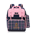 2016 School Backpacking Schoolbags  Children School Bag Satchel  Rucksack British Style Knapsack Bags for Teenage