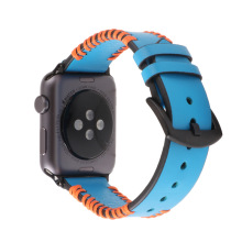 Watchbands For Apple Watch Strap Crazy Horse Leather 1 2 3 4 38 42mm Band iwatch Sport style Classic