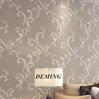 Luxury Velvet Victorian Wallpaper Background Wall Wallpaper Classic Wall Papers Home Decor For Living Room Embossed Damask N455 wholesale classic wall paper wall damask wallpaper golden floral wall covering 3d velvet living room home background decor