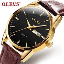 5adfe436a5d OLEVS Homens Relógio Ultra Fino de Quartzo relógio de Pulso À Prova D  Água  Data