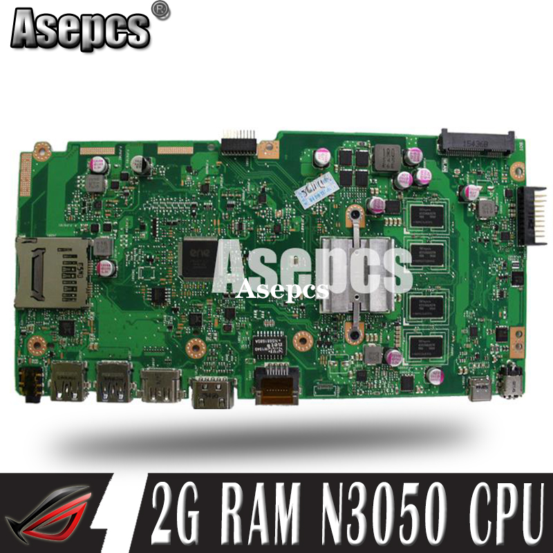 Asepcs X540SA Laptop <font><b>motherboard</b></font> for <font><b>ASUS</b></font> VivoBook X540SA X540S <font><b>X540</b></font> F540S Test original mainboard 2G RAM N3050 CPU image