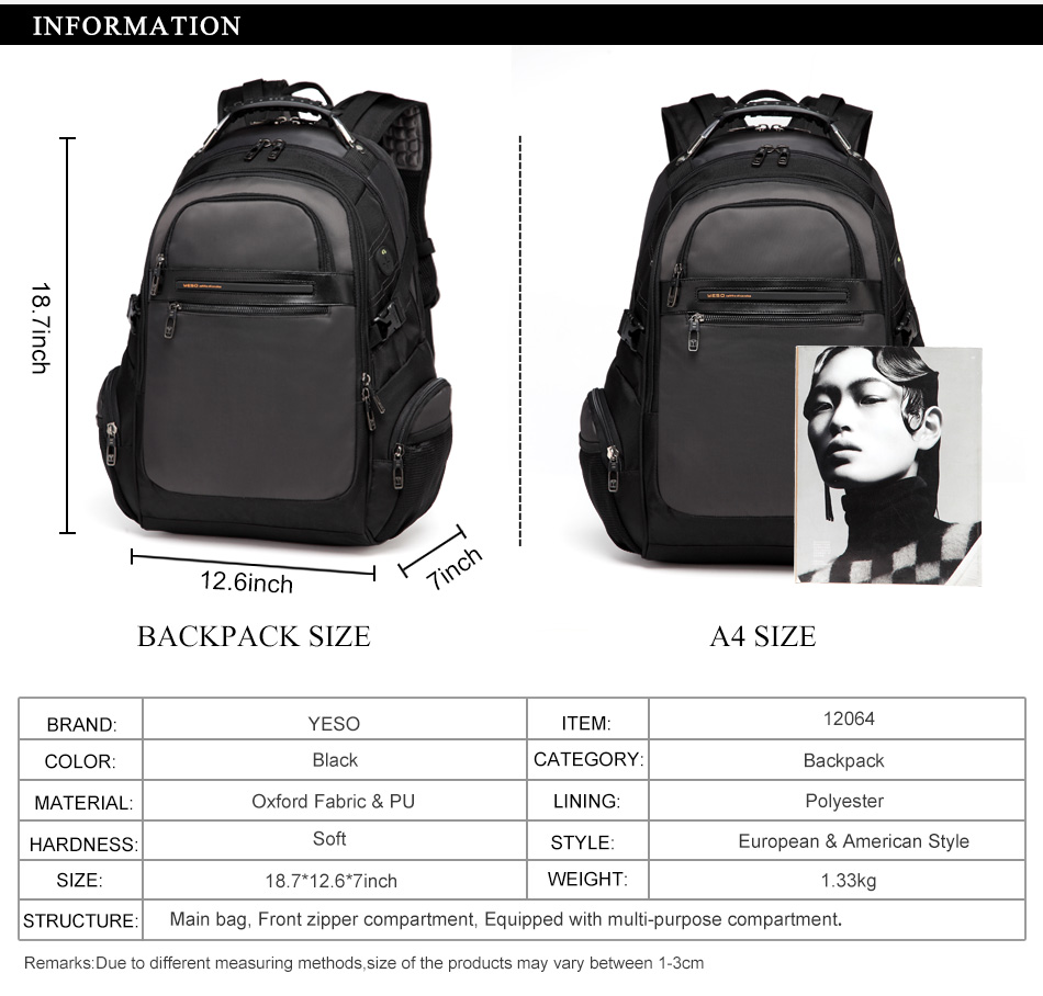 3Travel Bag