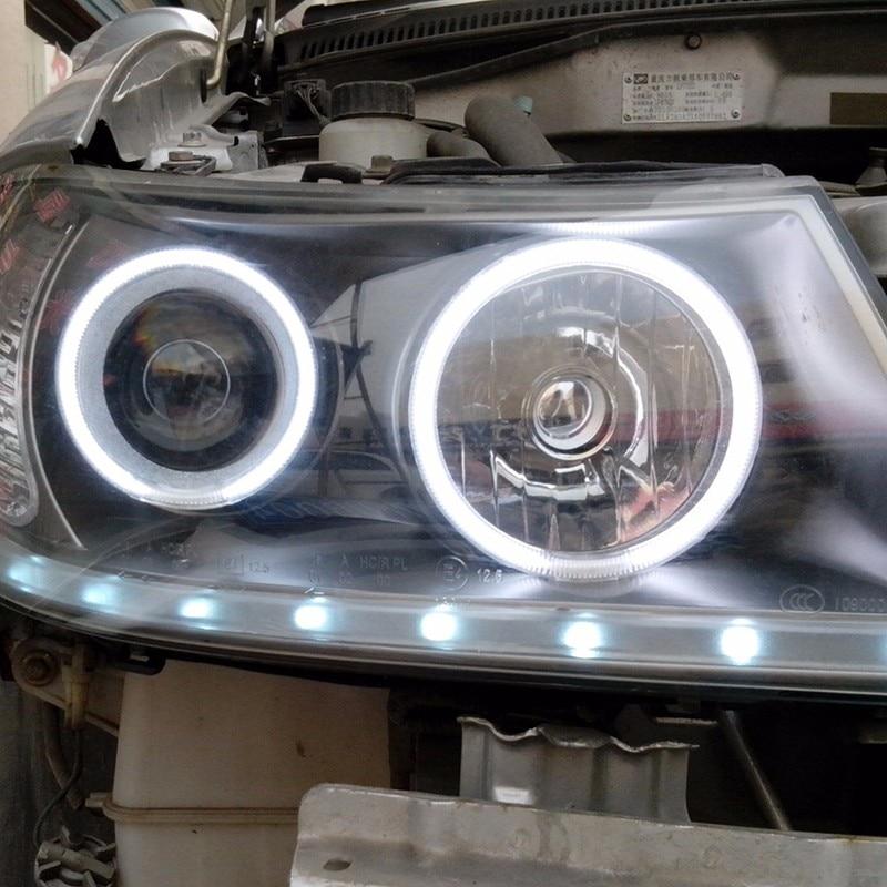 2x COB Angel Eyes Car Halo Ring Light Fog Lights - Car Lights - Photo 3