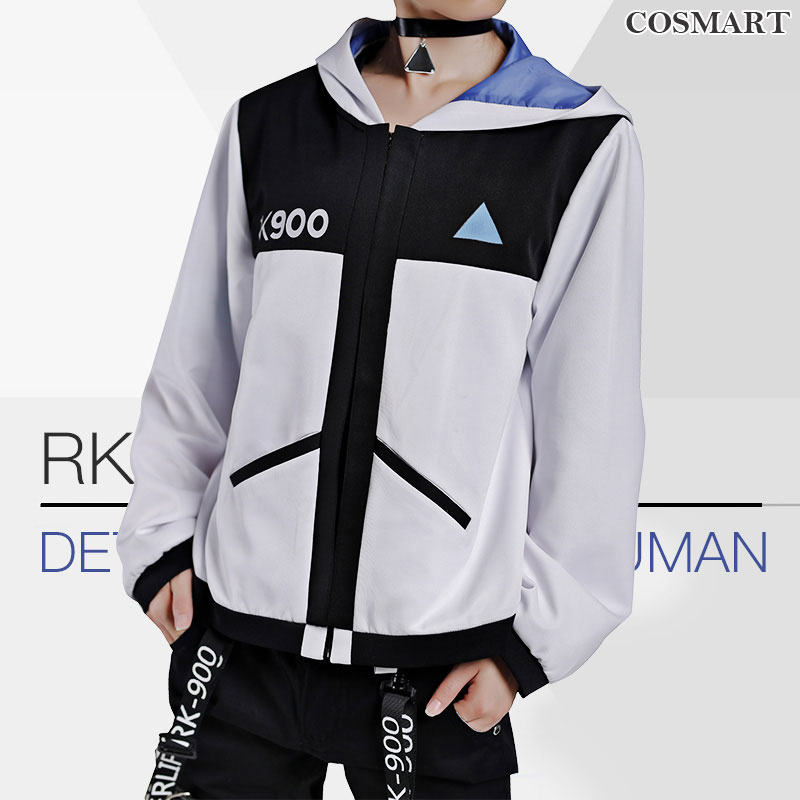 [Oct. Stock]Hot Game Detroit Become Human Connor Kara RK800 RK900 Cosplay Costume Incarnated As A Human Daily Wear Full set NEW