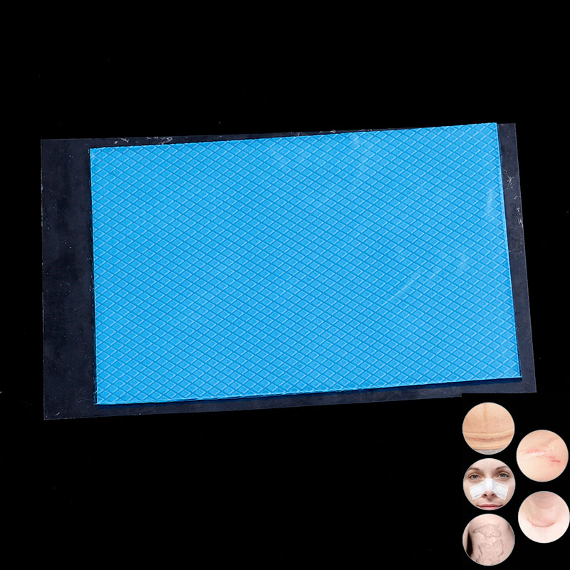 Reusable Silicone Removal Patch Acne Gel Scar Therapy Patch Remove Trauma Burn Sheet Skin Repair 12x8cm