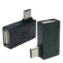 2pcs USB-C Type C to USB 2.0 Female OTG Adapter Ri