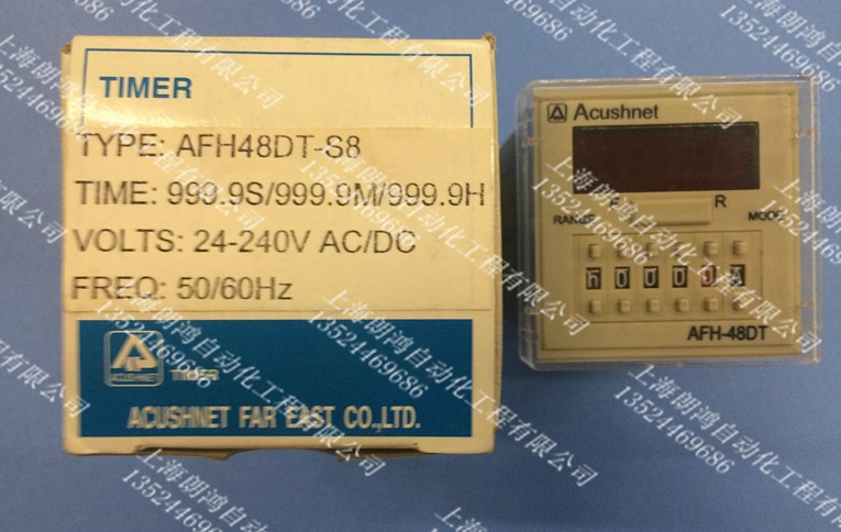 Taiwan ACUSHNET time relay AFH-48DT-S8 999.9HTaiwan ACUSHNET time relay AFH-48DT-S8 999.9H