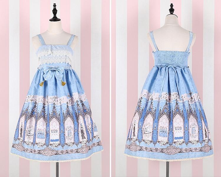2019 Лято момичета сладка рокля Lolita - Дамски дрехи - Снимка 6