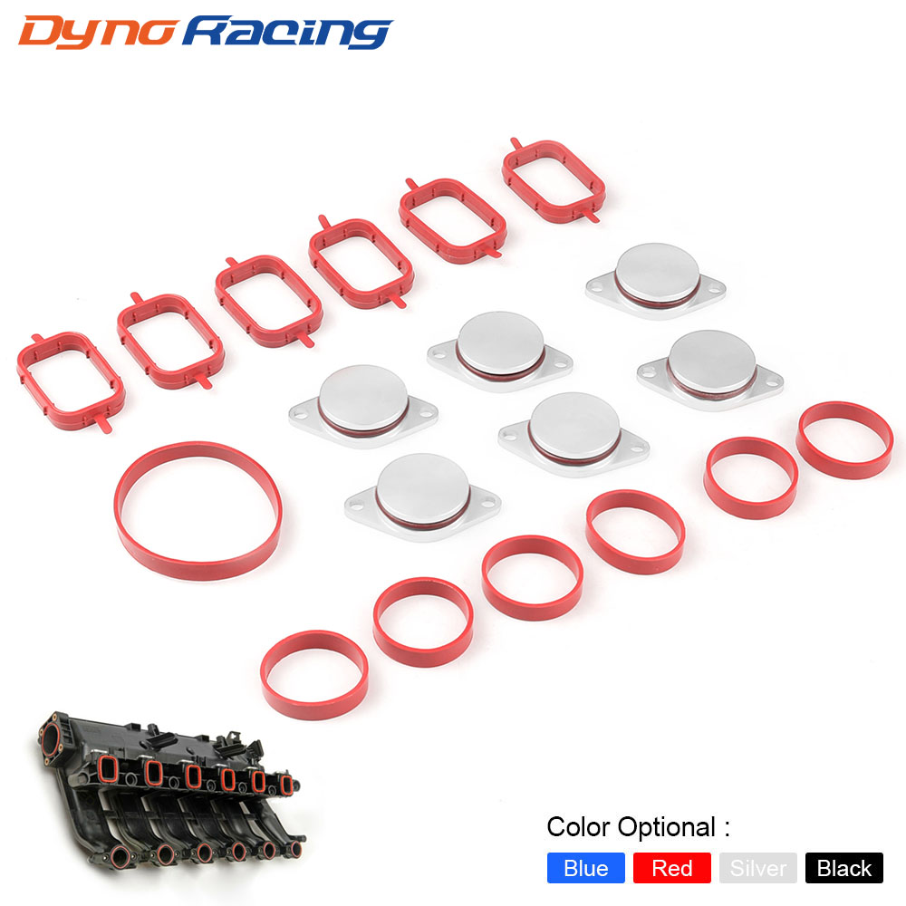 6X33mm Auto Replacement Parts for BMW M57 Swirl Blanks Flaps Repair Delete Kit with Intake Gaskets Key Blanks