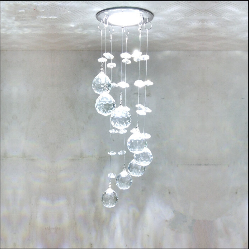 2019 Hot Selling Mini Modern Crystal Ceiling Lights Lustre