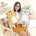 1pc 55cm Cartoon Figure Cat Plush Pillows Stuffed Cute Kitty Animal Plush Cushion Kids Toys Birthday Gift