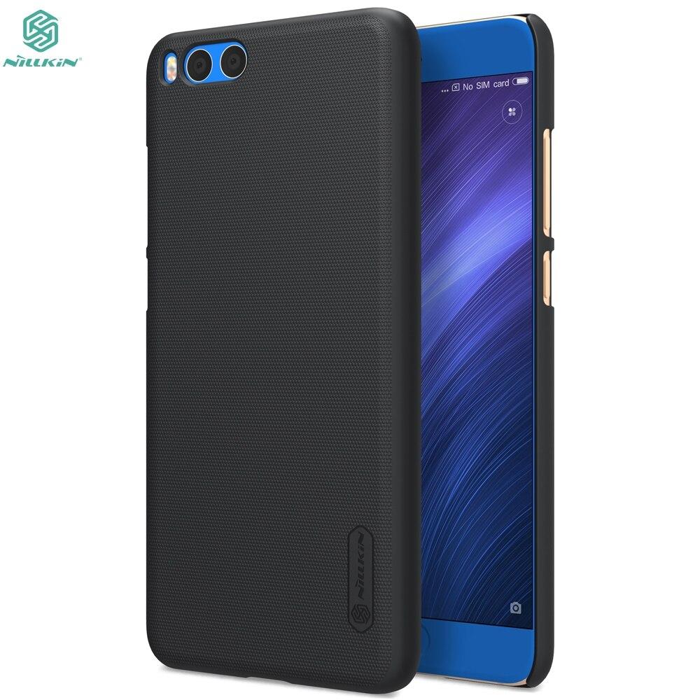 Pour Xiaomi mi Note 3 Cas Pour Xiaomi mi Note 3 pare-chocs note3 NILLKIN Super Givré Bouclier couverture de cas avec écran protecteur