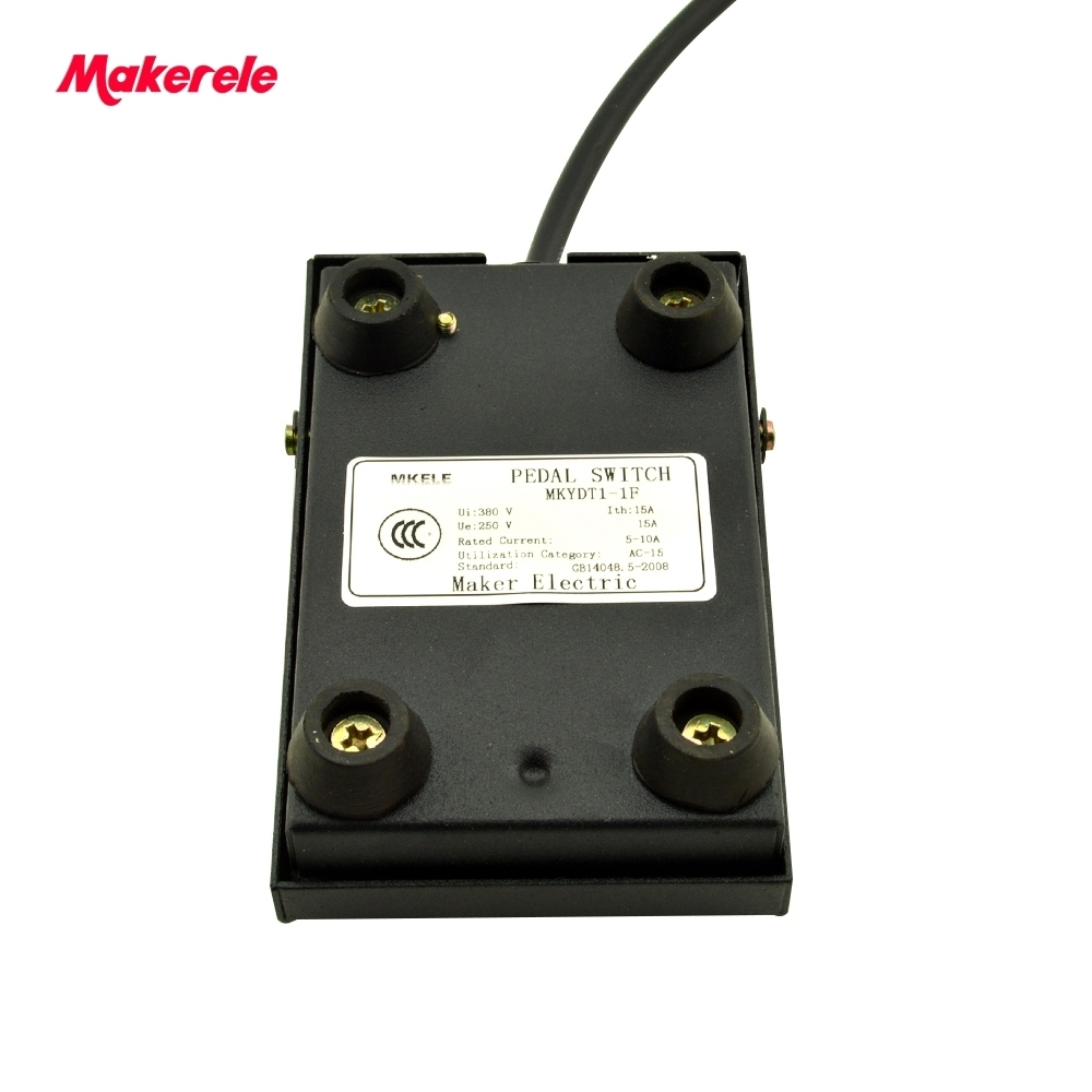 Rubber Metal Momentary Power Foot Switch Mkydt1 1f Factory Direct Dpdt Footswitch Wiring Price Spdt No Nc Nonslip Pedal From China In Switches Lights