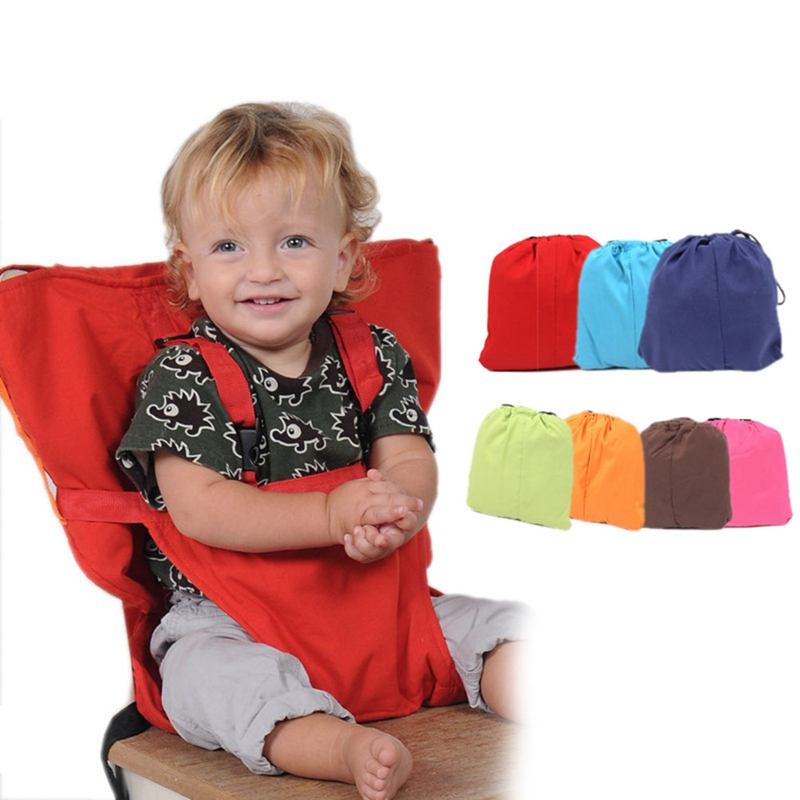 Portable Baby Dining Chair Seat Belt With Shoulder Strap Toddler Kid Safety Cover Children Car Back Fixed Carrier Seat