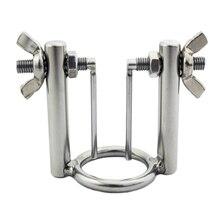 Chromium Steel Man Urethral Stretcher Chastity Device Penis Ring