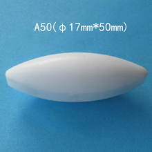 3 個 A17x50mm 磁気スターラー撹拌棒 PTFE 磁気ミキサー攪拌バー (オリーブ形状)